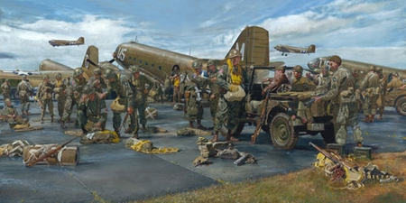 "James Dietz Handsigned and Numbered Limited Edition Print:""The Veterans"""
