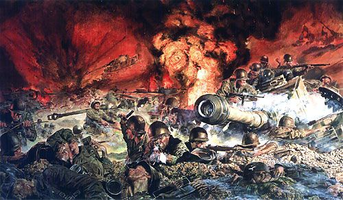 """James Dietz Handsigned and Numbered Limited Edition Artist Proof Print:""""Though I Be The Lone Survivor"""""""