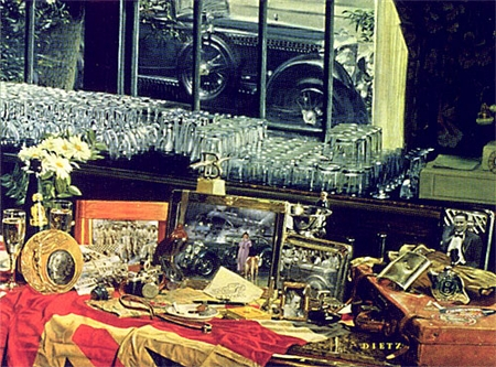 """James Dietz Handsigned and Numbered Limited Edition Print:""""Mayflower Blue Train"""""""