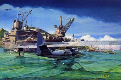 """James Dietz Handsigned and Numbered Limited Edition Print:""""Safe Harbor"""""""