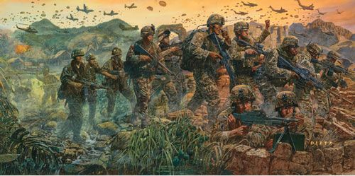 """James Dietz Handsigned and Numbered Limited Edition Print:""""Sky Soldier Legacy"""""""