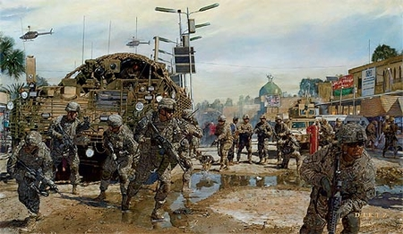 """James Dietz Handsigned and Numbered Limited Edition Print: """"The Last Patrol"""""""