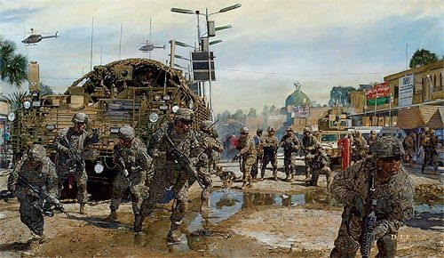 "James Dietz Handsigned and Numbered Limited Edition Print: ""The Last Patrol"""