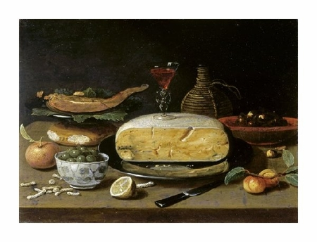 "Jan Van Kessel II Fine Art Open Edition Giclée:""Still Life with Facon de Venise Wineglass"""
