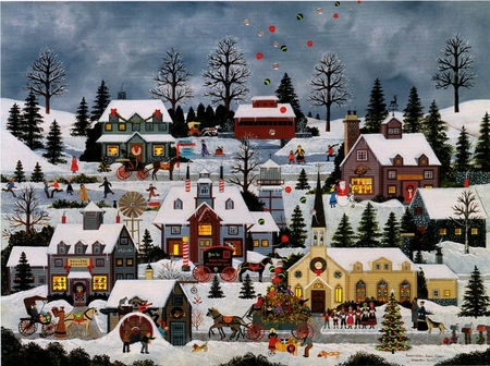 """Jane Wooster Scott Handsigned and Numbered Limited Edition Print:""""Good Wishes, Good Cheer"""""""