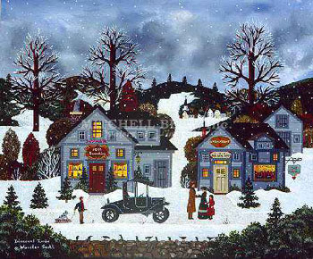 """Jane Wooster Scott Handsigned and Numbered Limited Edition Print:""""Innocent Times"""""""