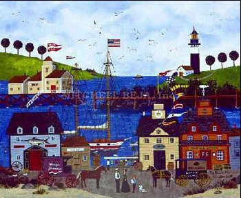 """Jane Wooster Scott Limited Edition Print:""""The Maine Attraction """""""