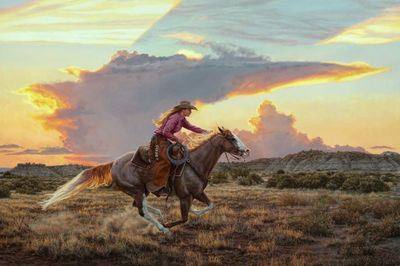 """Tim Cox Artist Signed and Numbered Limited Edition:""""Glorious Freedom"""""""