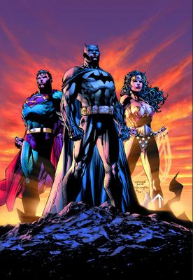 """Jim Lee Hand Signed and Numbered Limited Edition Canvas Gicleé:""""Icon"""""""