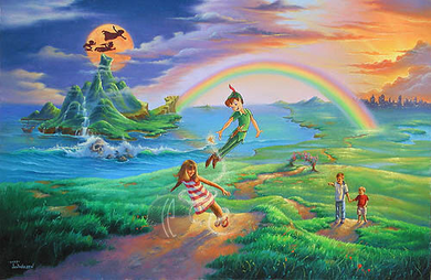 """Jim Warren Handsigned & Numbered Limited Edition Giclee on Canvas:""""If Only You Believe"""""""