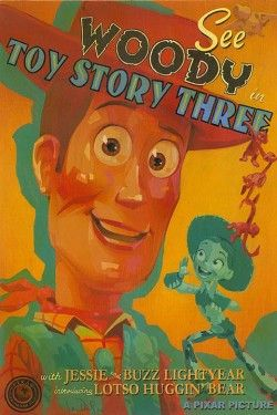 """Jody Daily Signed and Numbered Giclee on Canvas : """"See Woody in Toy Story 3"""""""