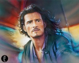 "John Alvin Handsigned and Numbered Limited Edition Giclee on Canvas: ""Will Turner"""