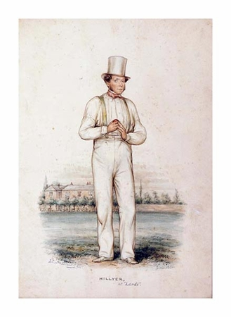 "John Corbet Anderson Fine Art Open Edition Giclée:""William Hillyer, at Lords"""