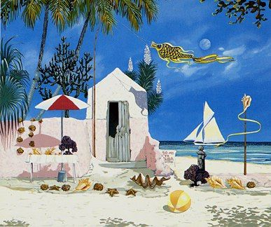 """John Kiraly Limited Edition Serigraph on Paper: """" Southernmost Point """""""
