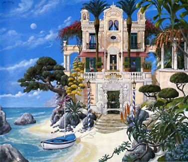 """John Kiraly Limited Edition Serigraph on Paper: """" Surprise at Point Eden """""""