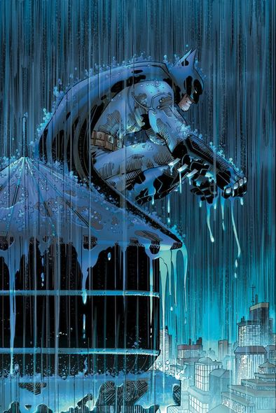 "John Romita Jr Limited Edition Batman Giclee on Paper:""Batman: Two Storms"""