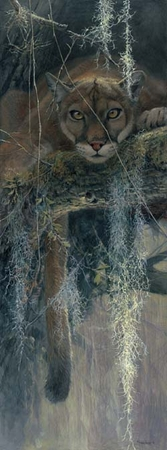 """John Seerey-Lester Hand Signed and Numbered Limited Edition Artist Proof Print: """"Treed"""""""