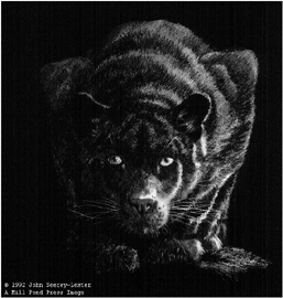 """John Seerey – Lester Limited Edition Print:""""Out Of The Darkness"""""""
