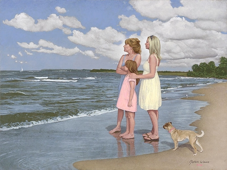 """John Weiss Hand Signed and Numbered Limited Edition Anniversary Edition Giclee on Paper and Canvas:""""The Gift"""""""