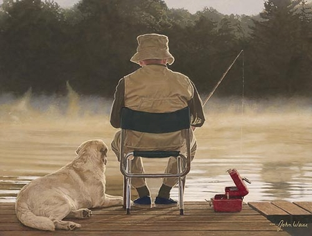"""John Weiss Handsigned & Numbered Limited Edition Print:""""Making Memories """""""