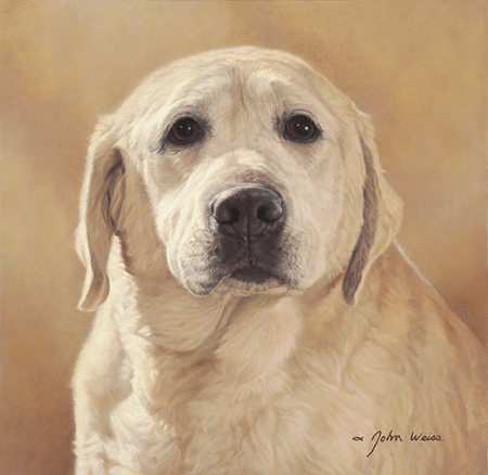 "John Weiss Limited Edition Print:""Maggie: Portrait Of A Friend"""