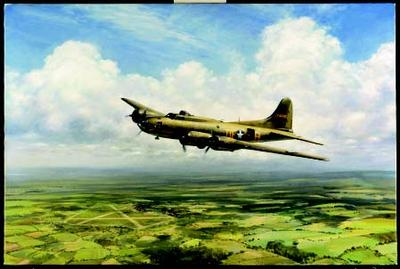 """John Young Hand Signed and Numbered Limited Edition: """"Belle Homeward Bound"""""""