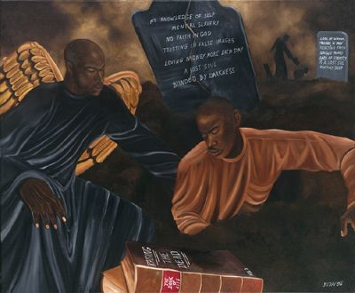 "Juda Ward Limited Edition Fine Art Print :""Raising the Dead"""