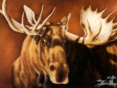 """Judi Rideout Moyers Limited Edition Print:""""The Challange"""""""