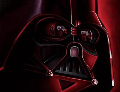 """Christian Waggoner  Star Wars Reflections Limited Edition Art:""""Lord Vader"""""""