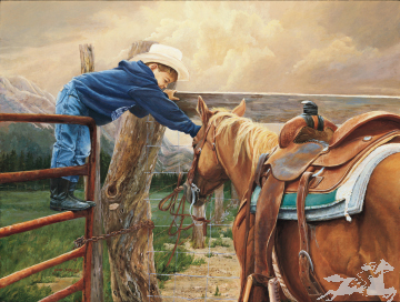 """June Dudley Signed Canvas Edition:""""Give Me A Chance"""""""