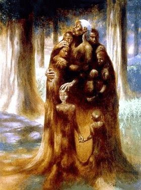 """Kadir Nelson Hand signed and Numbered Limited Edition Print :""""Family Tree"""""""