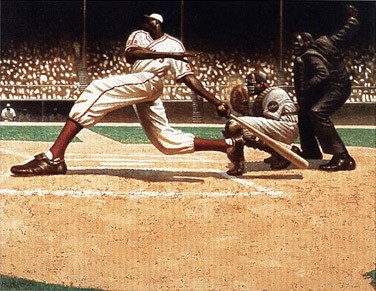 "Kadir Nelson Limited Edition Fine Art Print :""Steerack (Strike)"""