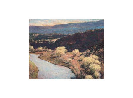 """Ken Elliott Signed and Numbered Limited Edition Giclée on Somerset Velvet Paper:""""Rio Chama"""""""