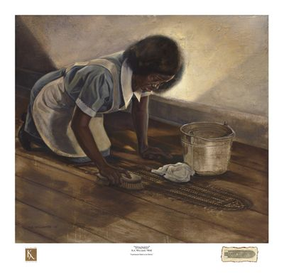 """Kevin A. Williams (WAK) Signed and Numbered Limited Edition Print:""""Stained"""""""