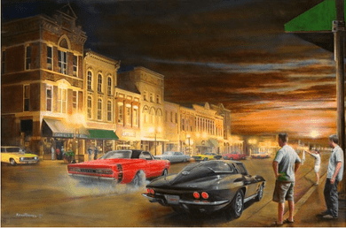 """Kevin Daniel Hand Signed and Numbered Limited Edition Giclee: """"Sizzlin' Summer Nights"""""""