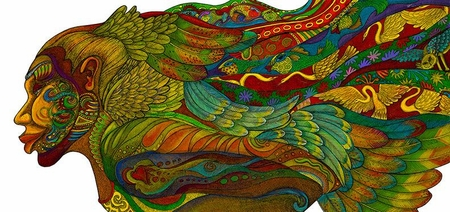 """Charles Bibbs Signed and Numbered Limited Edition Giclee Print:""""Evolution Of The Adorning Glory"""""""
