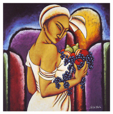 "LaShun Beal Hand Signed and Numbered Limited Edition Print:""Fruitful"""