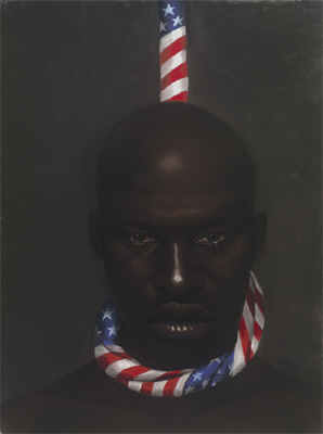 """Laurie Cooper Limited Edition Signed Ed. 1200:""""Black Man in America"""""""