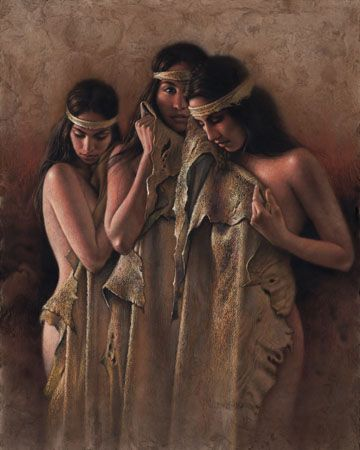 "Lee Bogle Hand Signed and Numbered Limited Edition Canvas Giclee:""The Bathers"""