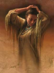 "Lee Bogle Handsigned and Numbered Limited Edition Canvas Giclee: ""Morning Light"""