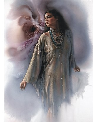 "Lee Bogle Handsigned and Numbered Limited Edition Print:""Inner Peace"""