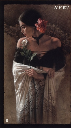 """Lee Bogle Handsigned and Numbered Limited Edition Print:""""Latin Lace"""""""