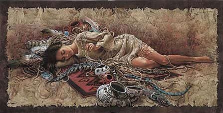"""Lee Bogle Handsigned and Numbered Limited Edition Print:""""Memories of the Past"""""""