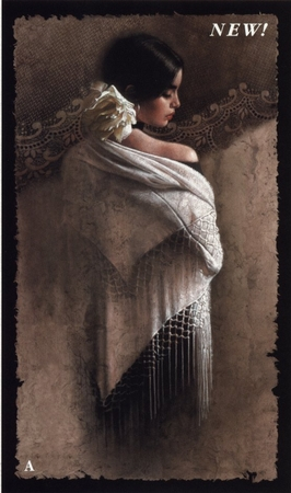 """Lee Bogle Handsigned and Numbered Limited Edition Print:""""The White Shawl"""""""