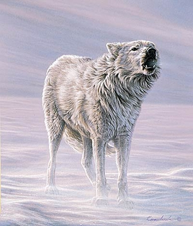 "Lee Kromschroeder Limited Edition Print:""Howling Wind  """