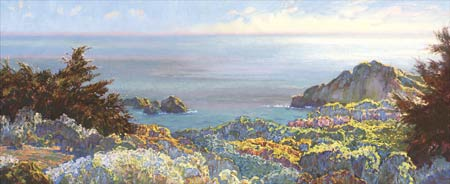 "Lois Johnson Signed and Numbered Limited Edition Giclée on Museo Paper:"" North Coast II"""