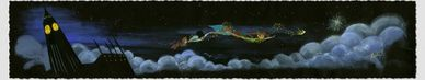 "Lorelay Bove Signed and Numbered Giclée on Paper: ""Over the Clouds"""