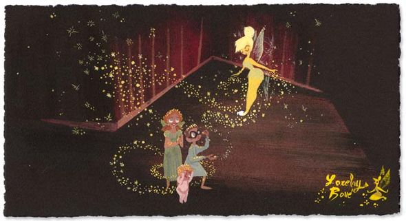 "Lorelay Bove Signed and Numbered Giclée on Paper: ""Pixie Dust"""