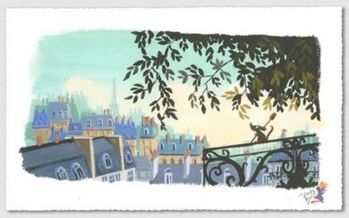"Lorelay Bove Signed and Numbered Giclée on Paper: ""The Flavor of Paris"""