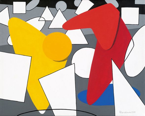 """Lynne Bernbaum Limited Edition Museum Quality Giclée: """"Perspective In Perspective - Offer"""""""